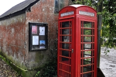 Helford river, phone booth